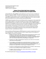 SAMHSA Primary and Behavioral Health Care Integration (PBHCI) Grant – Additional Resource #11