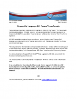 Respectful Language Bill Passes Texas Senate