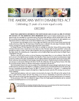 Americans with Disabilities Act-Texas Bar Journal Article-2015