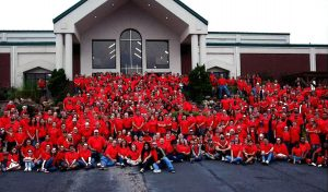 Group picture of Grace Creek Church volunteers